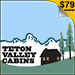 Teton Valley Cabins - Located on the road to Grand Targhee Resort.  Kitchenettes, Great Hot Tub, WiFi, Pet Friendly.