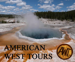 American West Tours : Customized sightseeing & wildlife tours experiencing arguably the most picturesque landscape in North America. Offering combo tours that include fly fishing & scenic float!