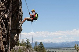 Exum Mountain Guides :: Rock climbing is a terrific way to involve the entire family in a Teton adventure. A Family Climbing day at our Hidden Falls climbing area is fun for families or just kids!