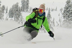 Exum Mountain Guides - Guided Winter Trips : In the winter months we offer the best of guided Backcountry Skiing, Ski Mountaineering, Ski & Snowboard camps, & Ice Climbing, & Winter Climbing/Instruction in the Tetons!