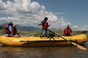 Teton Scenic Floats and Fly Fishing : Float the famous Snake River. Daybreak, Lunch and Sunset trip options. Complimentary transportation, riverside lunch, snacks and drinks. Fun for the whole family.
