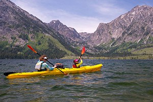 OARS Adventures in the Teton Mountains