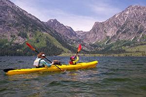 OARS Jackson Lake Camping Adventure