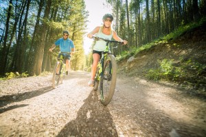 Snow King Mountain Sports - Biking & Bike Rentals :: Ride the greater Snow King, Cache Creek, & Game Creek network of trails on one of our Cannondale bike rentals. Our Knowledgeable, friendly staff will get you on the trails!