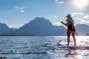 Snow King Mountain Sports - SUP Rentals! :: Visit Snow King Mountain Sports & gear up for your next summer adventure! Get out on the water with a C4 Waterman Paddleboard! Full Day rental includes 1 paddle & lifejacket.