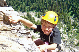 Exum Mountain Guides - family climbing day