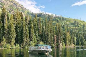 Jenny Lake Boat Tours - Grand Teton National Park