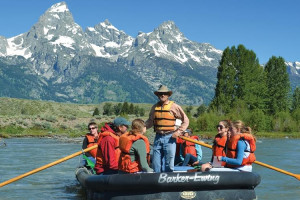 Off the Beaten Path - Kids exploring the Tetons