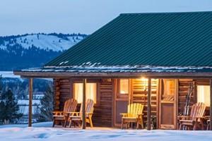 Triangle X - winter cabin rentals in GTNP