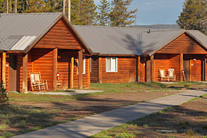 Headwaters Lodge & Cabins at Flagg Ranch : 2 miles to Yellowstone Park's South Gate. Camper Cabins, RV sites, & tent camping. The most convenient location to explore Yellowstone Park, Grand Teton Park & Jackson Hole.