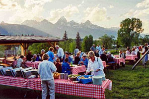 Dornan's Chuckwagon in Teton Park