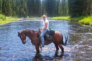 Beard Mountain Ranch - Teton Trail Rides :: Wyoming Trail rides on the west slope of the Teton Range. Enjoy amazing Teton views, fields of wildflowers, glacier lakes, & wildlife. Lunch & water included. Book today!
