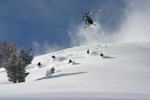 Heli Skiing Near Jackson Hole
