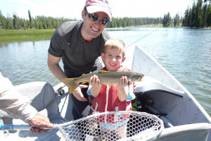 Jackson Hole Anglers - boat the Snake River