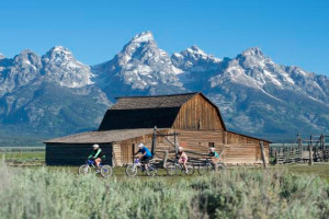 Teton Mountain Bike Tours - fun for all ages