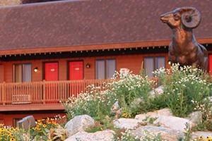 Flat Creek Inn - overlooking the Nat'l Elk Refuge