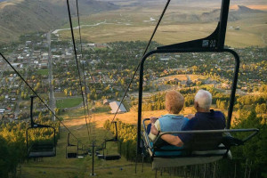 Scenic Chairlift Rides at Snow King Mountain
