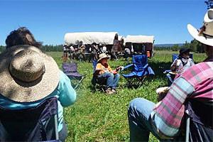 Teton Wagon Train - Jackson Hole camping packages