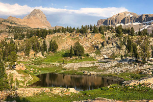 Guided Treks into Tetons | Hiking or by Llama