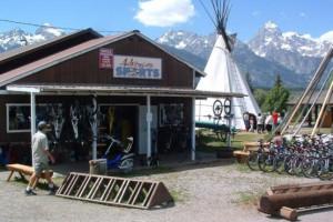Bike Path Rentals in Grand Teton Park - Dornans