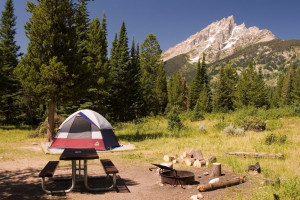 Camping in Grand Teton National Park | Jenny Lake
