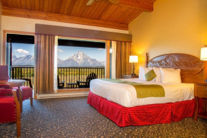 Jackson Lake Lodge - Wake up to the Tetons