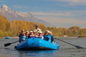 Teton Expeditions Scenic Floats w/Teton Views