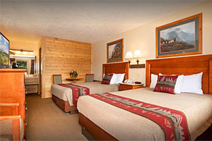 Flat Creek Inn - best value for spring & summer