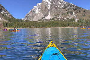 Rendezvous River Sports - Jackson Lake trips