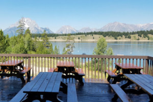 Signal Mountain Lodge - Dining with a View