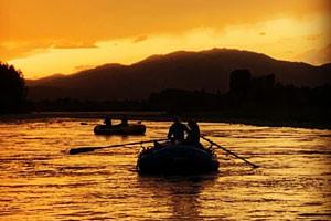 Jackson Hole Anglers - boat the Snake River