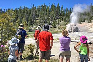 Yellowstone & Teton Park Tour   Timberline Adv's