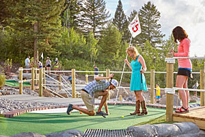 Snow King - Best Mini Golf in the area