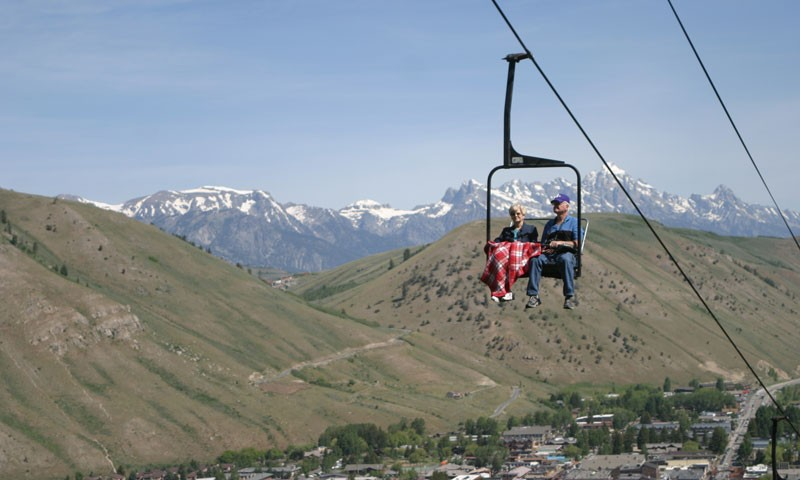 Scenic Chairlift at Snow King