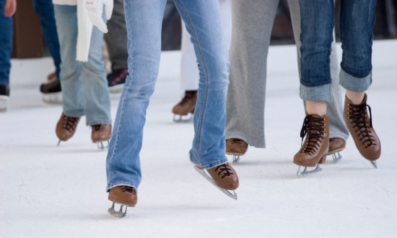 Jackson Wyoming Ice Skating