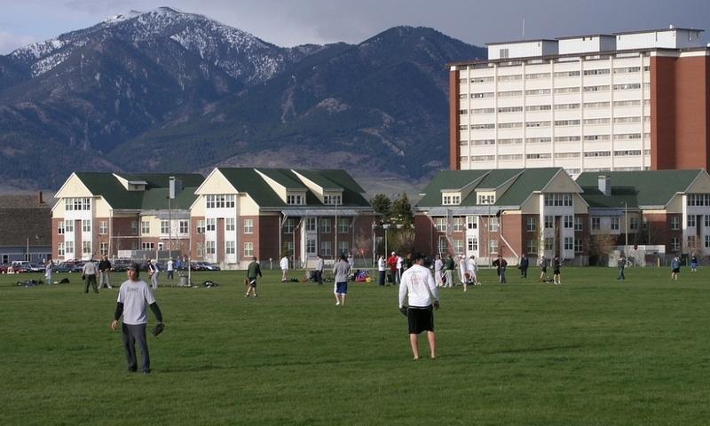 Msu Bozeman Montana Field Sport