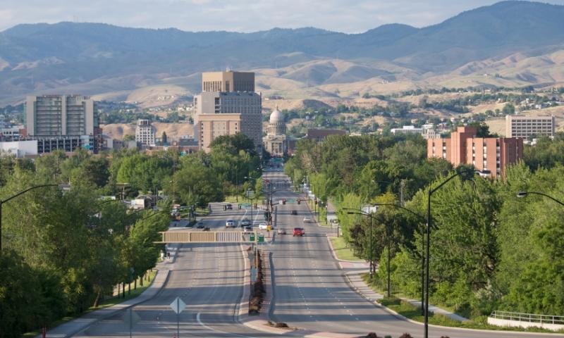 Boise Idaho Downtown