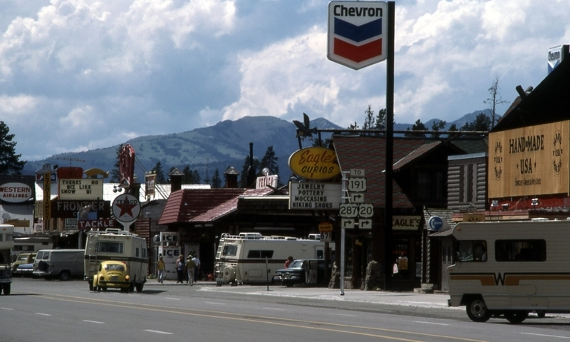 West Yellowstone Downtown