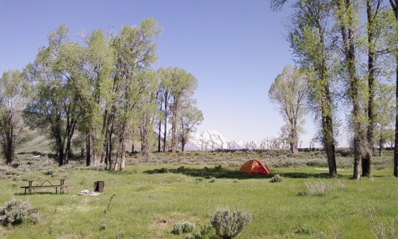 Gros Ventre Campground Camping In Grand Teton National