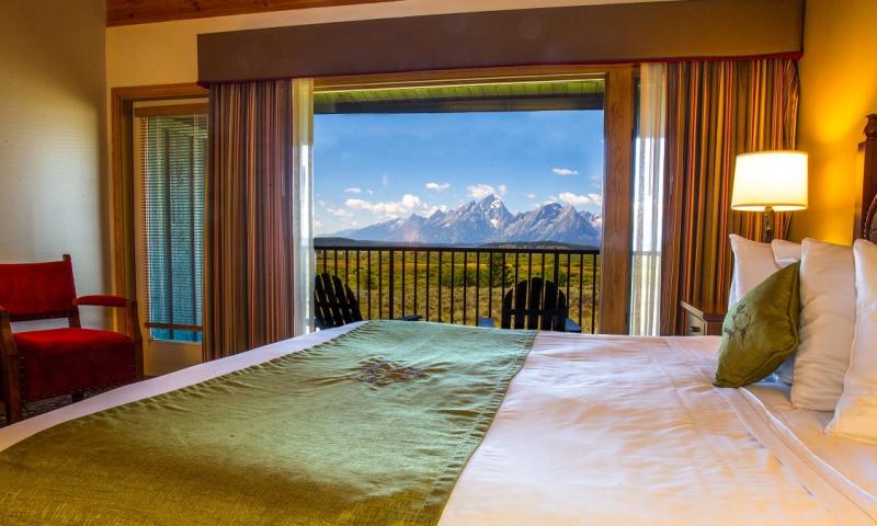 Jackson Lake Lodge Wyoming Grand Teton National Park