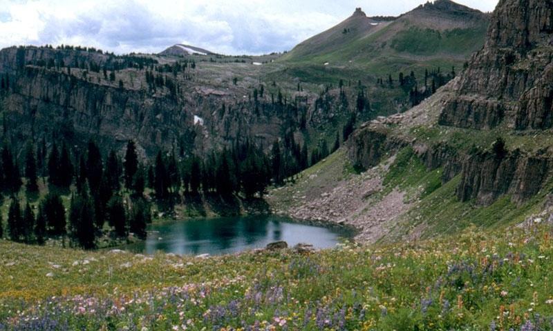 Marion Lake Teton Crest Trail Grand Teton National Park