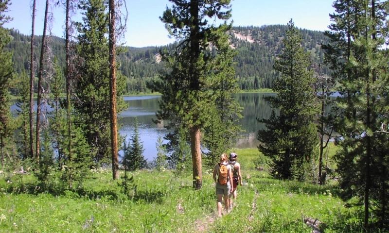 Jackson Lake Area Trails Grand Teton National Park Alltrips