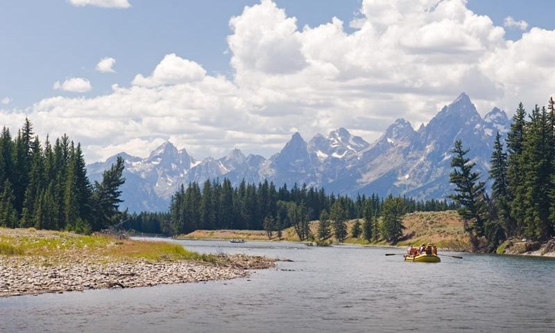 Snake River Grand Teton National Park Scenic Rafting Float