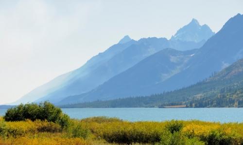 Jackson Lake Grand Teton National Park Fishing Camping