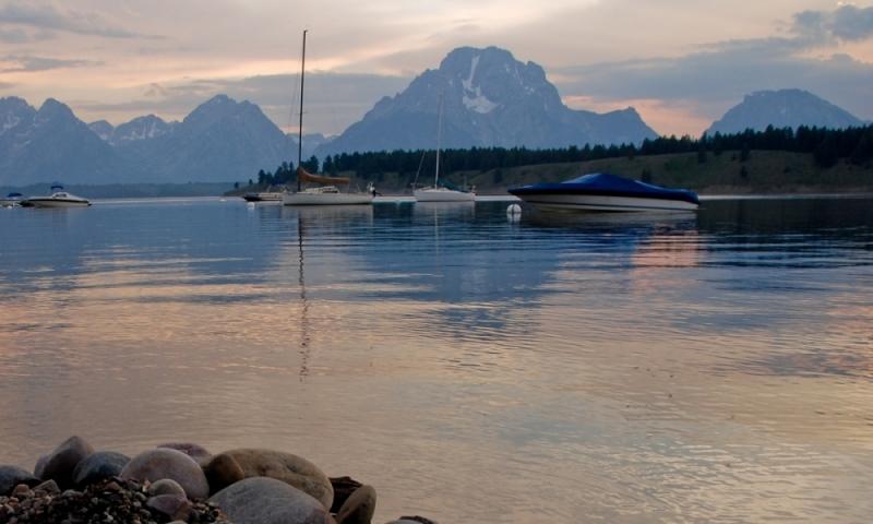Jackson Lake Grand Teton National Park