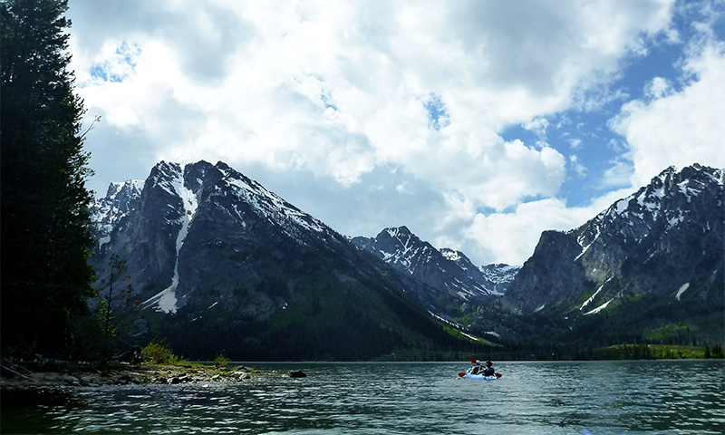 Jackson Lake Kayaking
