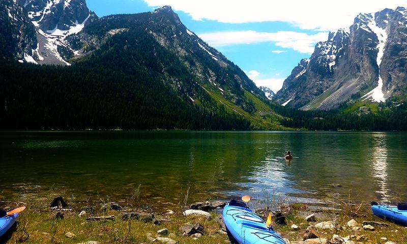 Grand Teton Kayaking