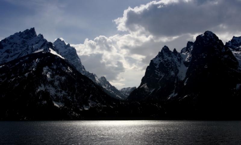 Jenny Lake Grand Teton National Park Fishing Camping