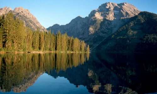 Leigh Lake Grand Teton National Park