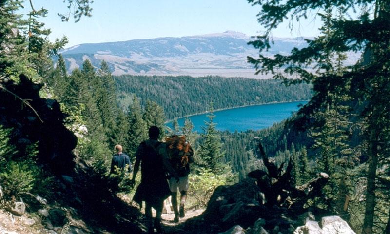 Death Canyon Grand Teton National Park Phelps Lake